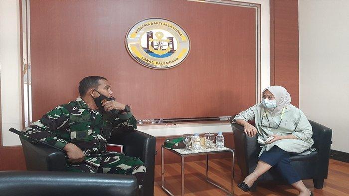 Berharap Pada Kemampuan Baterai Nanggala-402, Danlanal Palembang Kenal Baik Kolonel Harry Setiawan