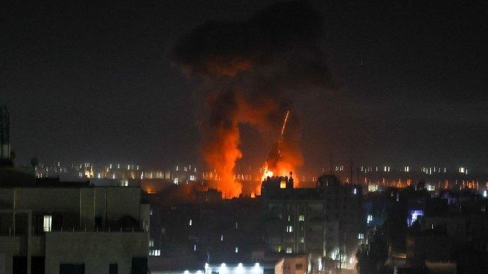 Israel KembaliMembombardir Jalur Gaza Dengan Pesawat Tempur