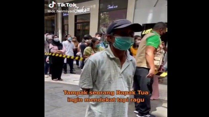 Tak Punya HP untuk Daftar, Kisah Lansia di Makassar Kayuh Sepeda 15 Kilo Demi Bisa Divaksin