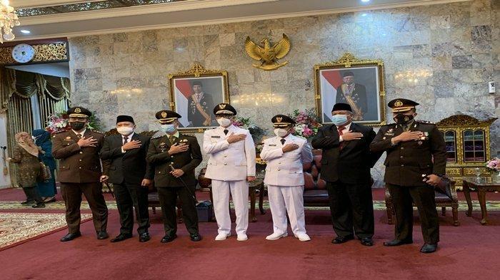 Pelantikan Bupati & Wakil Bupati PALI, Pesan Herman Deru untuk Paslon HERO: PALI Sangat Potensial