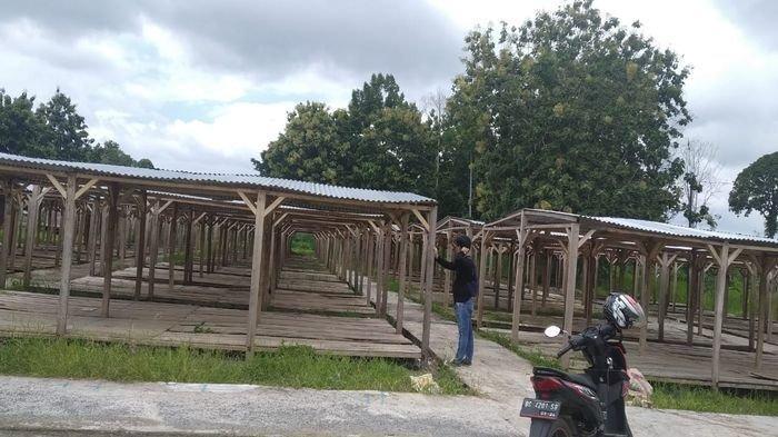 240 Unit Lapak untuk Pedagang Kaki Lima di Pasar Emass tebingtinggi Siap Diundi dan Dibagi