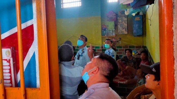 Pasca Kebakaran di Lapas Tangerang, Setiap Kamar di Lapas Klas 1 Banyuasin Dipasang NCB