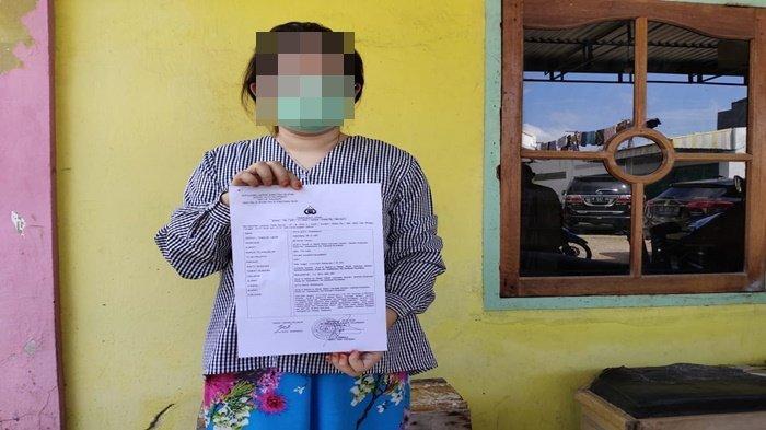 Kaki Dipelintir Perut Ditendang, Perempuan Berkulit Putih di Palembang Ini Laporkan Suami ke Polisi
