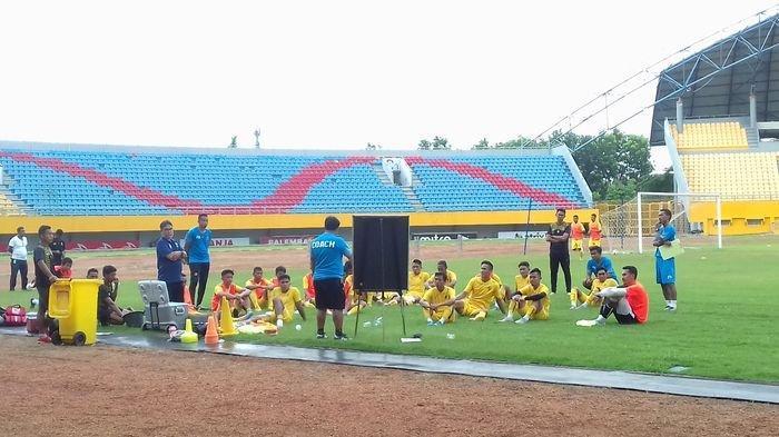 Evaluasi Hasil Latihan, Sriwijaya FC Agendakan Jajal Tim Lokal Jelang Liga 2 Indonesia Bergulir