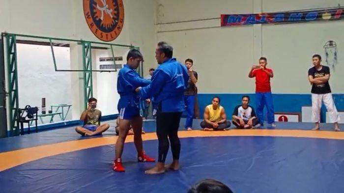 Intip Latihan Sambo Sumsel: Bak Khabib Nurmagomedov, Makin Digandrungi Anak Muda