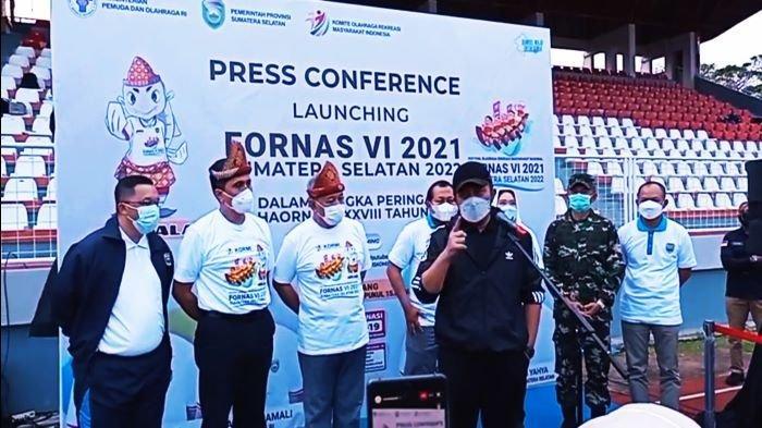 Herman Deru Persilahkan Kabupaten/Kota Ambil Bagian Tuan Rumah Cabang Olahraga Fornas 2022