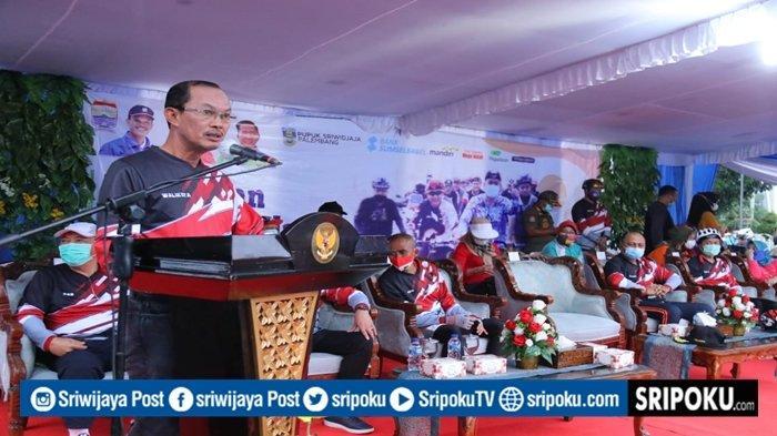 Harnojoyo Launching 3 Jalur Sepeda di Palembang, Bisa Dilintasi Setiap Hari, Ini Rutenya
