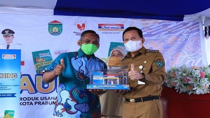 PT Indomarco Prismatama Launching Pemasaran Produk Hasil UMKM Prabumulih, UMKM Ada di Indomaret