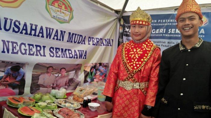 SMK PP Negeri Sembawa ikuti Pameran Produk Inovasi PWMP di Launching Polbangtan