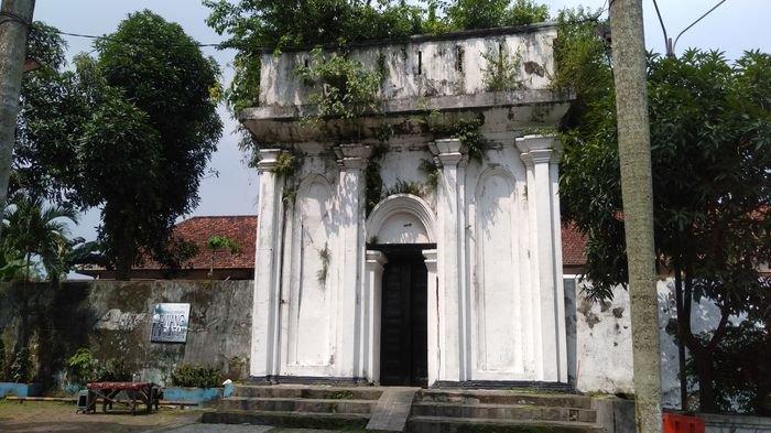 Nasib Pintu Terakhir SMB II Palembang, Lawang Borotan di BKB Tak Terawat dan Kusam