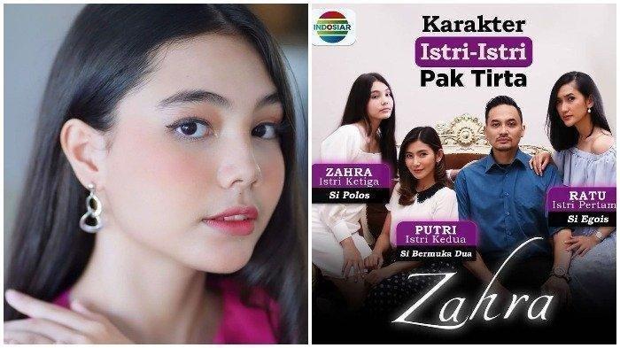 DIDEPAK dari Suara Hati Istri Indosiar, SIAPA Sebenarnya Lea Ciarachel, Pemeran Zahra?
