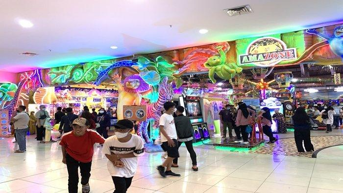 Wahana Permainan OPI Mall Palembang Diserbu Pengunjung, Bagaimana dengan Social Distancing