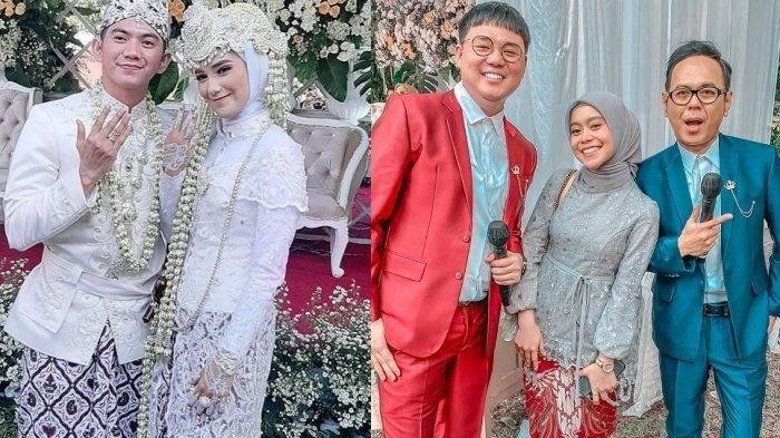 Lesty Kejora hadiri pernikahan Rizki dan Nadya.