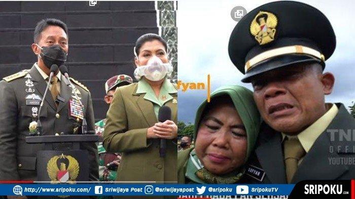 Prajurit TNI Ini Menangis, 'Saya Pegang-pegang Pangkat Letnan Dua, Kapan Saya Jadi Seorang Perwira'