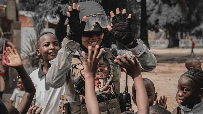 Cerita Polwan Polda Sumsel Tugas di Afrika Tengah, Azan Hentikan Kontak Senjata