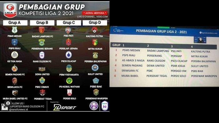Beredar Pembagian Grup Liga 2 Indonesia, Sriwijaya FC Masuk di Grup 1 Berikut Lawan-lawannya Ada MBU