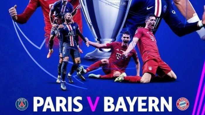 PREDIKSI Skor Liga Champions Bayern Munchen Kalah Tipis Atas PSG Tonton Via HP Disini TV Online SCTV