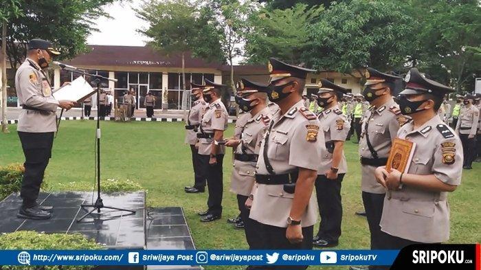 5 Perwira Polres Muara Enim Dimutasi, Kapolres AKBP Danny Sianipar : Ini karena Prestasi dan Promosi