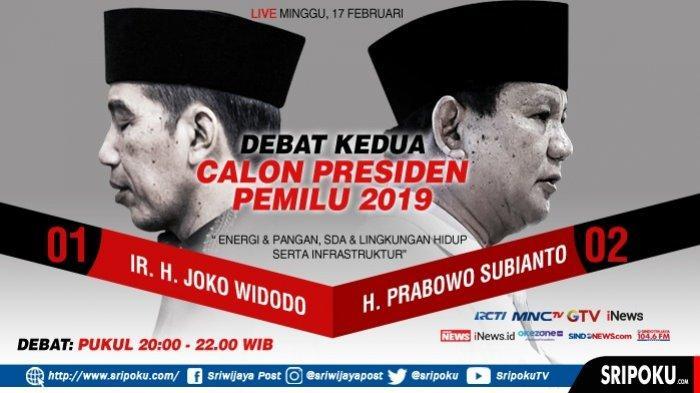 SURVEI TERBARU Elektabilitas Capres Jokowi vs Prabowo Subianto Setelah Debat Ke-2 Pilpres 2019