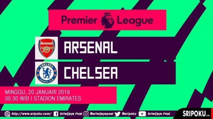Jadwal Liga Inggris Pekan Ini - Arsenal Vs Chelsea Live RCTI