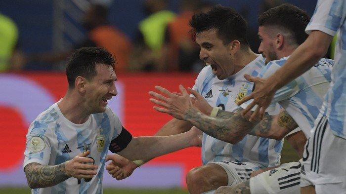 Detik-detik Tangis Lionel Messi Pecah, Argentina Juara Copa America 2021: Akhiri Nirgelar 28 Tahun