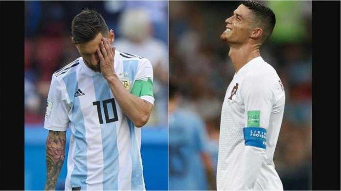 Argentina dan Portugal Tersingkir di Piala Dunia 2018, Ada Apa dengan Messi dan Ronaldo ?