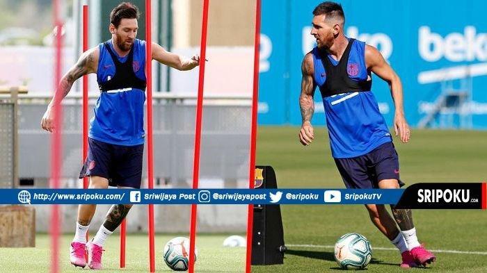 Jelang Laga Real Betis vs Barcelona La Liga Spanyol: Lionel Messi Sudah Kembali Latihan