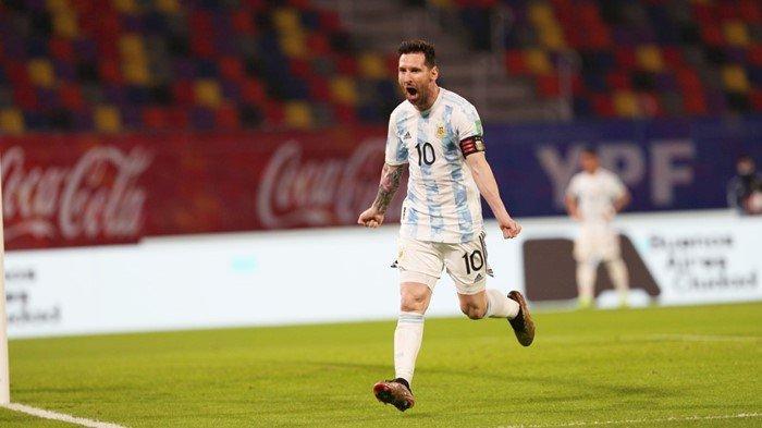 Hasil Argentina vs Chile: Gol Penalti Lionel Messi tak Bawa Kemenangan, Alexis Sanches Membalas