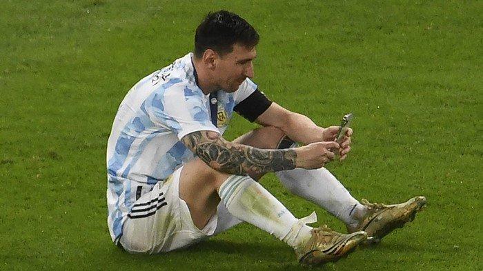 Lionel Messi Cuek Kontraknya di Barcelona tak Jelas, Pilih Libur Dengan Anak Istri Usai Copa America