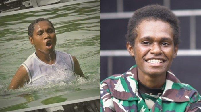 KISAH Kowad Asal Papua, Nekat Terobos Banjir Sedalam 5 Meter untuk Berangkat Seleksi Prajurit TNI AD