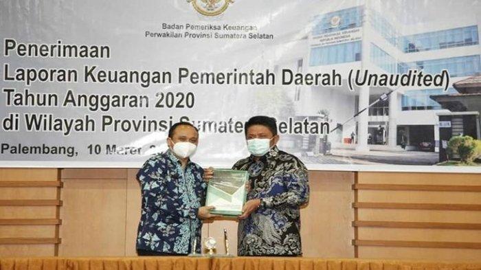 Pemprov Sumsel dan 3 Kabupaten Serahkan LKPD ke BPK RI, Gubernur Herman Deru Bertekat Bisa Raih WTP