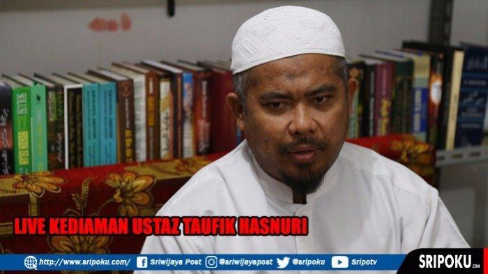 LIVE STREAMING Suasana Terkini Kediaman Ustaz Taufik Hasnuri di Ki Pedatuan 12 Ulu Palembang