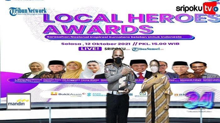 Local Heroes Award 2021, Ini sejumlah Terobosan Dirlantas Polda Sumsel di Bidang Lalu Lintas