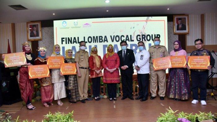 Dinas Kebudayaan dan Pariwisata (Disbudpar) Provinsi Sumsel Menggelar Lomba Vocal Group Lagu Daerah