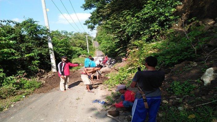 Peserta JASS-9 Tembus 1677 Orang, Akses Danau Ranau OKU Selatan yang Terdampak Longsor Dibersihkan