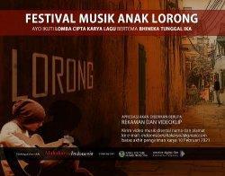 Festival Musik Anak Lorong, Peluang Talenta Muda  untukTampil Lebih Eksis ke Publik