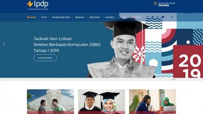 Daftar Perguruan Tinggi Dalam Negeri Beasiswa LPDP 2021 Mulai Dari S1, S2 dan S3 Ini Data Lengkapnya
