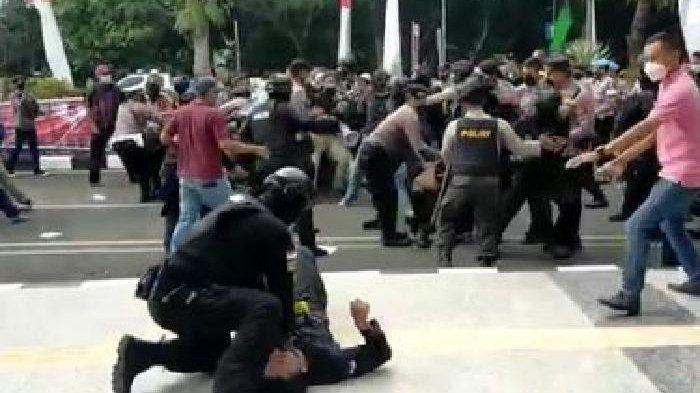 'Saya Tidak Akan Lupa', Mahasiswa Maafkan Brigadir NP Usai Dibanting, Minta Polisi Ditindak Tegas