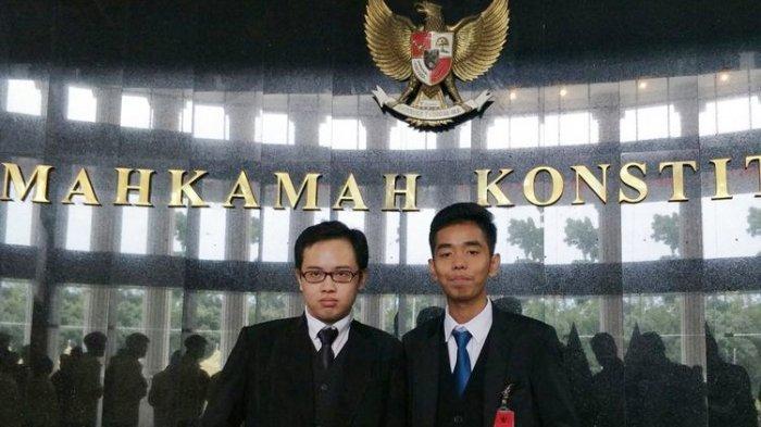 Mengenal Zico dan Josua, Dua Mahasiswa Zaman Now yang Berani Gugat UU MD3 ke MK