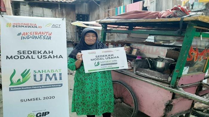 Dampak Corona, Pedagang Sate di Palembang Ini Gulung Tikar Karena Jualannya tak Laku