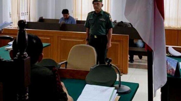 Komandan TNI Terbukti Nikahi Siri Istri Orang Divonis 8 Bulan Penjara,Pelapor Kecewa