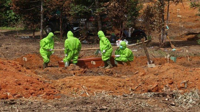 Kondisi Pemakaman Khusus Covid-19 di Gandus, Sepekan Terakhir Setiap Hari Ada yang Dimakamkan