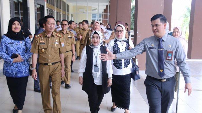 Diah Natalisa Tinjau Mal Pelayanan Publik (MPP) di Jakabaring Palembang, MPP Terbesar di Indonesia