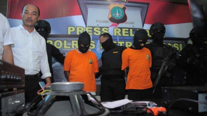 Setelah Tertangkap, Dua dari Pengeroyok Pencuri Amplifier Mengaku Menyesal
