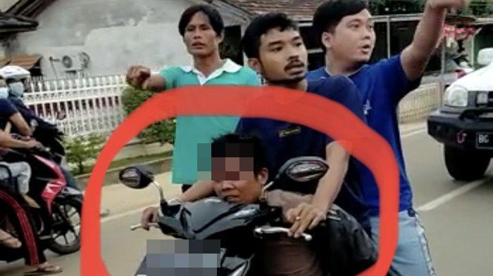 Dua Pencuri Kabel di IB I Palembang Kepergok Saat Sedang Berada di Atas Rumah, Diduga Warga Gandus