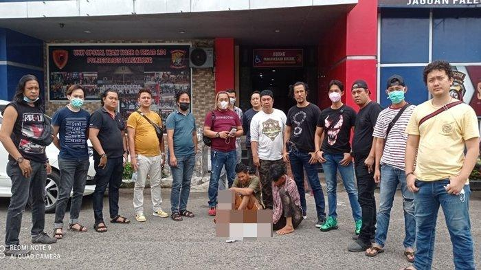 Coba Kabur, Dua Pencuri Kabel Penerangan LRT di Jakabaring Palembang Ditangkap Tim AKP Robert