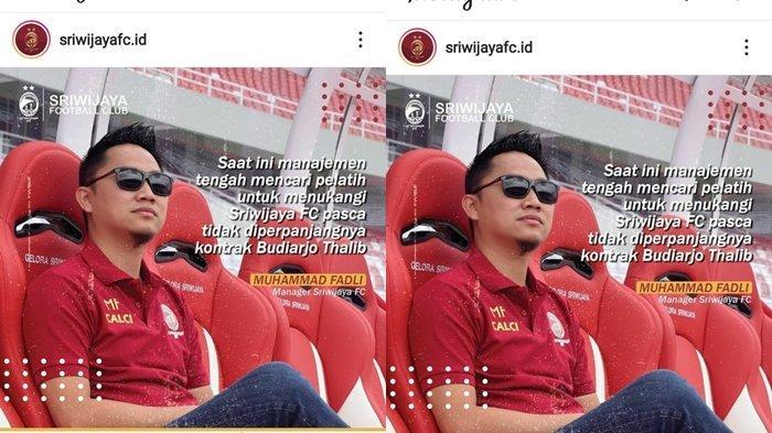 Eks Pelatih Persipura Hingga PSMS Medan Lamar Sriwijaya FC, Ini Sosoknya dan Kariernya