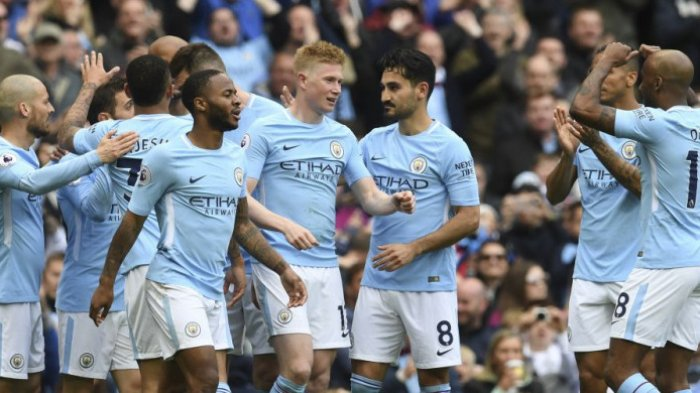 Hasil Klasemen Liga Inggris - Manchester City Rebut Puncak, Sergio Aguero Kokoh Jadi Top Skor