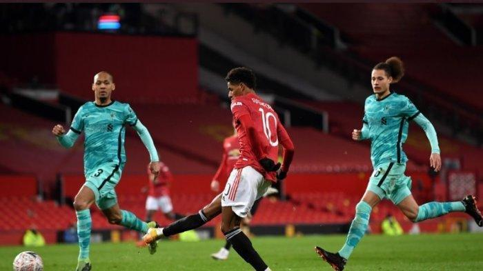 Luar Biasa, Manchester United Berhasil Singkirkan Liverpool dari Piala FA,  Fernandes Penentunya
