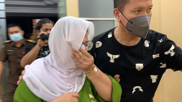 Mantan Kepala Sekolah SDN 79 Palembang, ND ditangkap pada Selasa malam (14/9/2021).